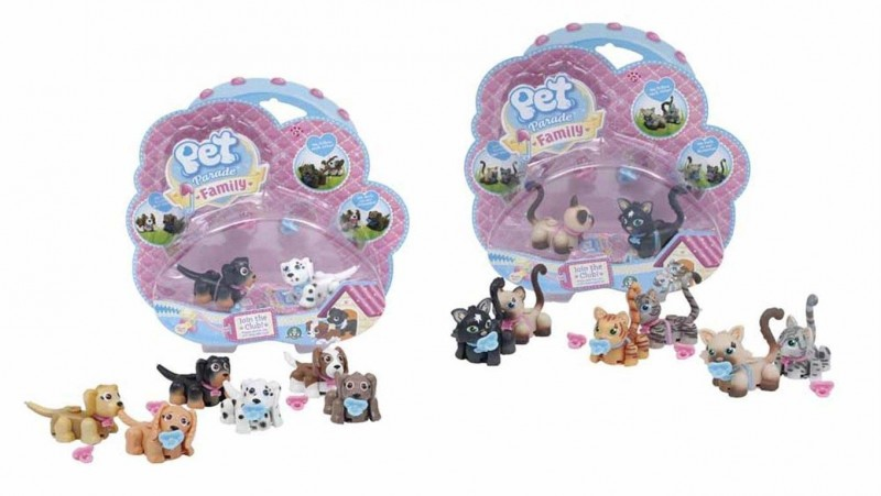 Pet Parade Family Baby (1 Blister) - Giochi Preziosi - MazzeoGiocattoli.it