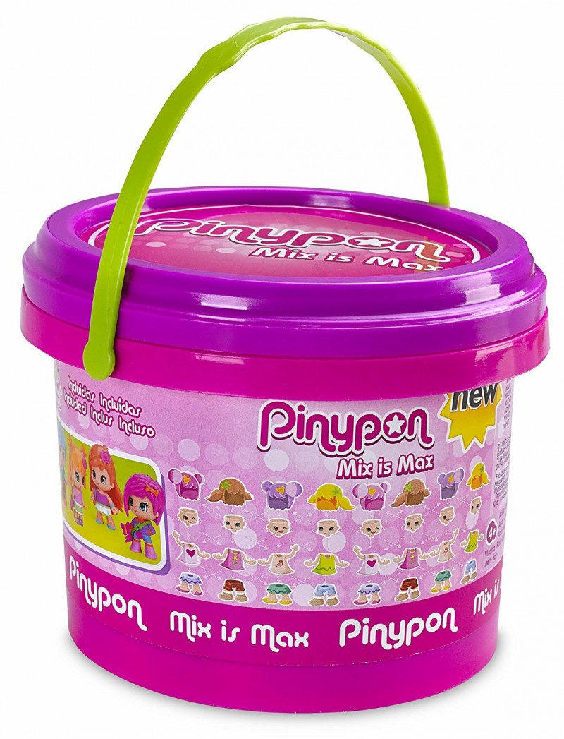 Pinypon Secchiello Mix Is Max - Famosa - MazzeoGiocattoli.it
