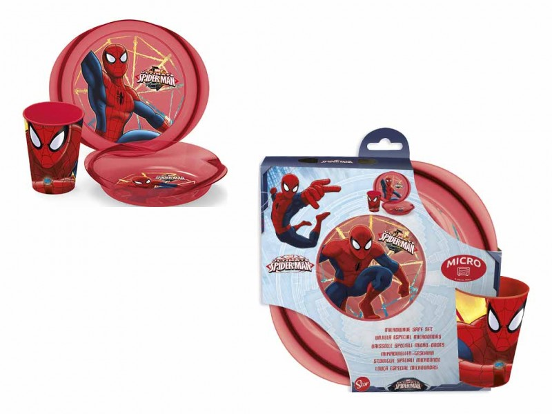 Spiderman Set Pappa 3 Pezzi - MazzeoGiocattoli.it