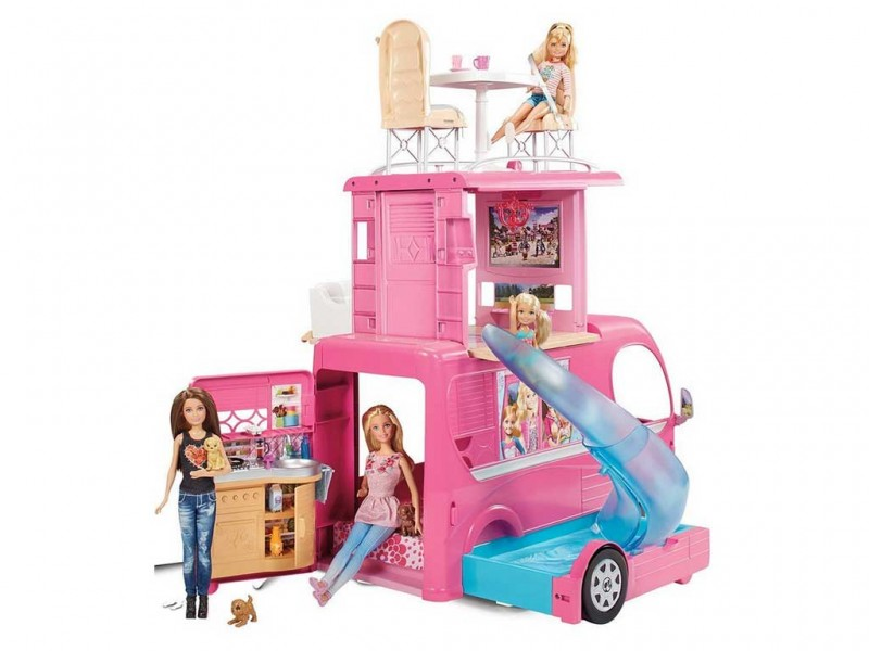 Camper Di Barbie - MazzeoGiocattoli.it