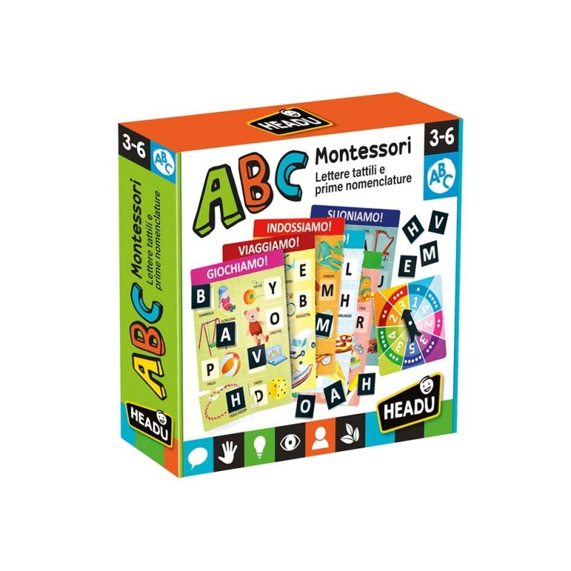 ABC Montessori - Headu  - MazzeoGiocattoli.it
