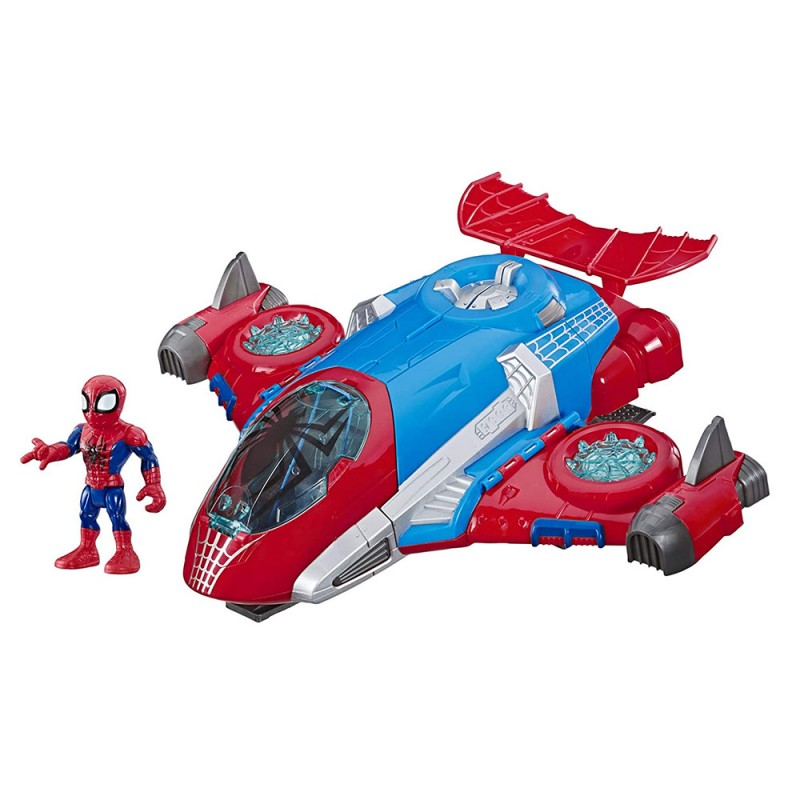 Adventures Quartier Generale Spider Man - Hasbro  - MazzeoGiocattoli.it