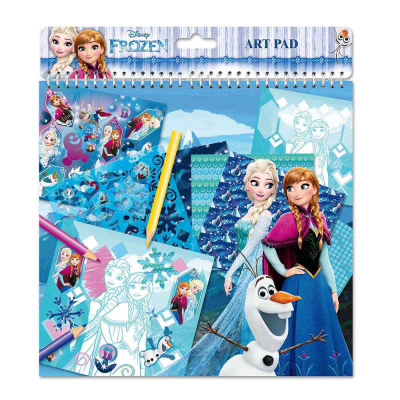 Album Per Colorare Art Pad Frozen  - MazzeoGiocattoli.it