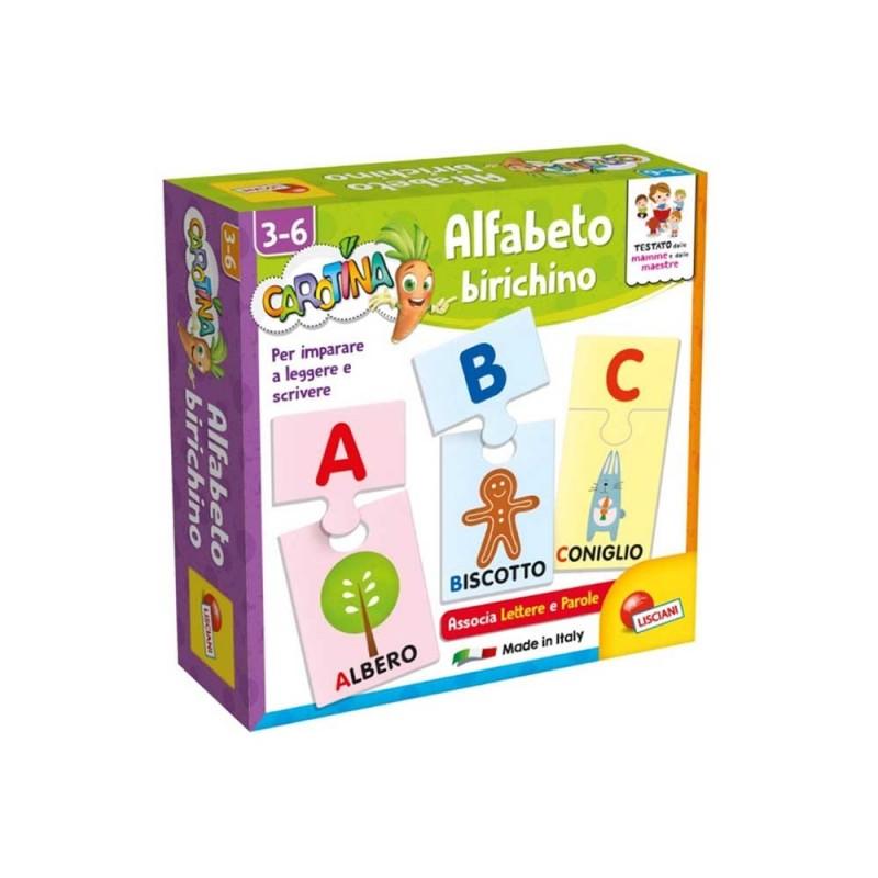 Alfabeto Birichino - Lisciani  - MazzeoGiocattoli.it