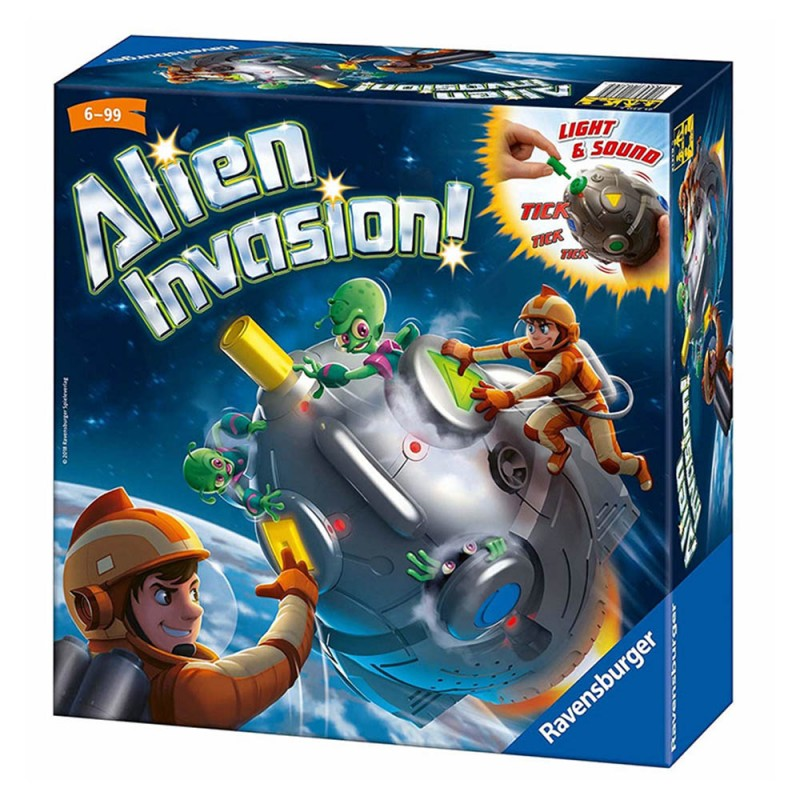 Alien Invasion - Ravensburger  - MazzeoGiocattoli.it