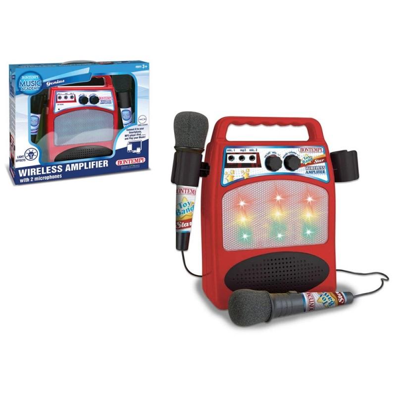 Amplificatore Wireless C-2 Con Microfoni - Bontempi  - MazzeoGiocattoli.it