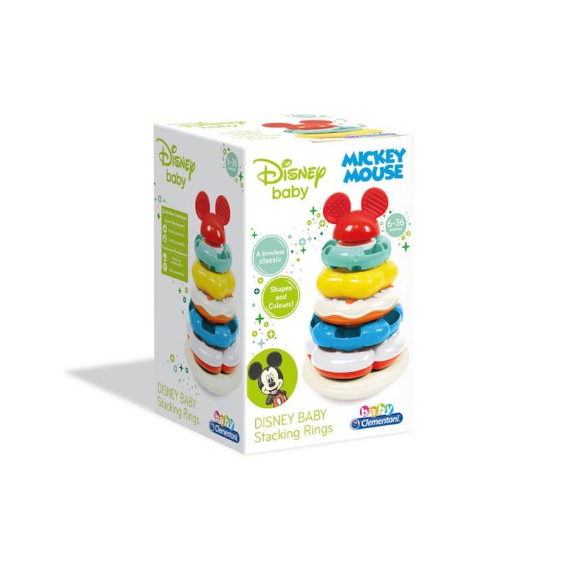 Disney Baby Anelli Impilabili, Multicolore, - Clementoni - MazzeoGiocattoli.it