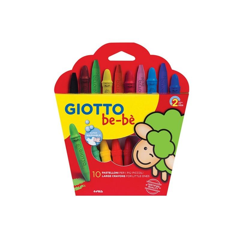 Astuccio 10 Pastelli A Cera - Giotto  - MazzeoGiocattoli.it