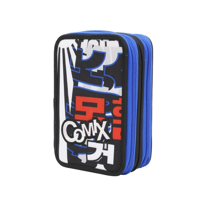 Astuccio 3 Zip Flash Korea Fight - Comix  - MazzeoGiocattoli.it