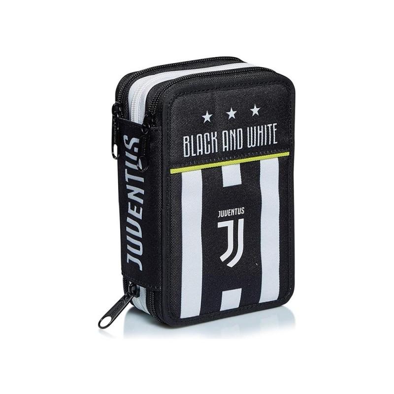 Astuccio 3 Zip Juventus - Seven - MazzeoGiocattoli.it