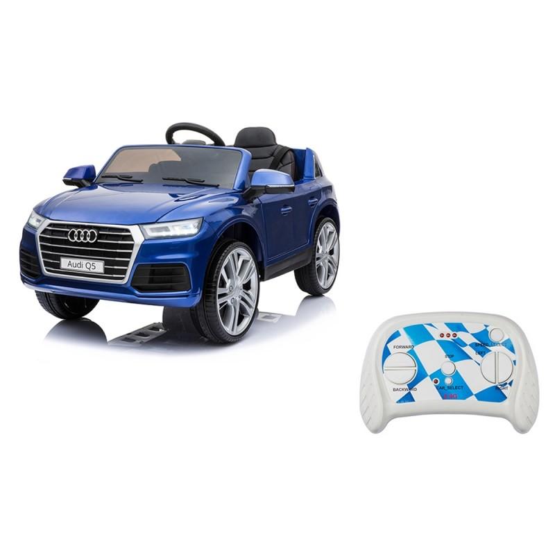 Auto Elettrica Per Bambini Audi Q5 Blu - Mazzeo Giocattoli  - MazzeoGiocattoli.it