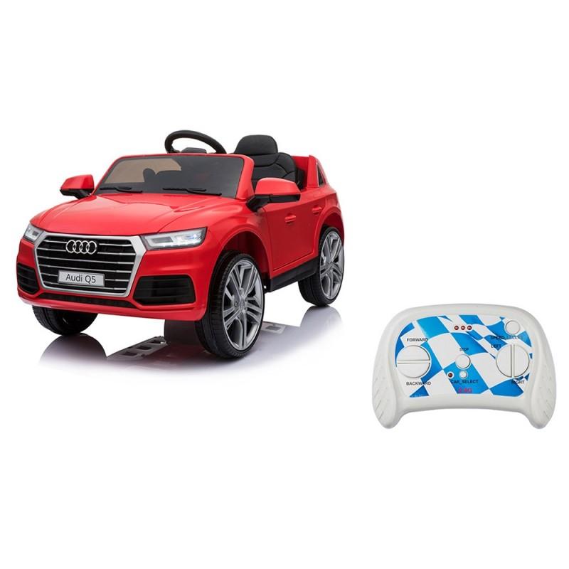 Auto Elettrica Per Bambini Audi Q5 Rossa  - Mazzeo Giocattoli  - MazzeoGiocattoli.it