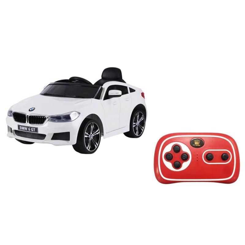 Auto Elettrica Per Bambini BMW Serie 6 GT Bianca  - MazzeoGiocattoli.it