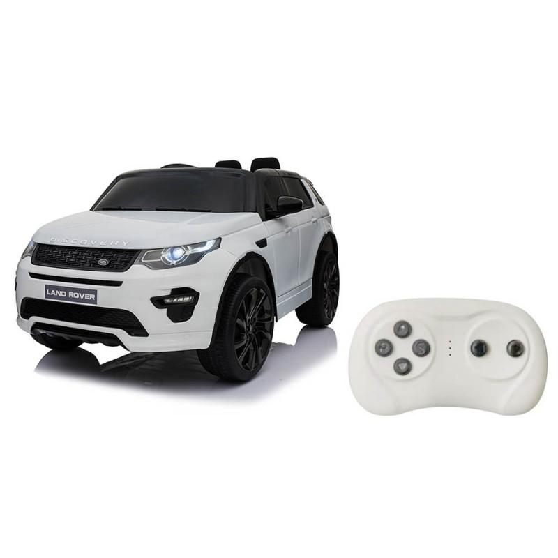 Auto Elettrica Land Rover Bianco - Mazzeo Giocattoli  - MazzeoGiocattoli.it