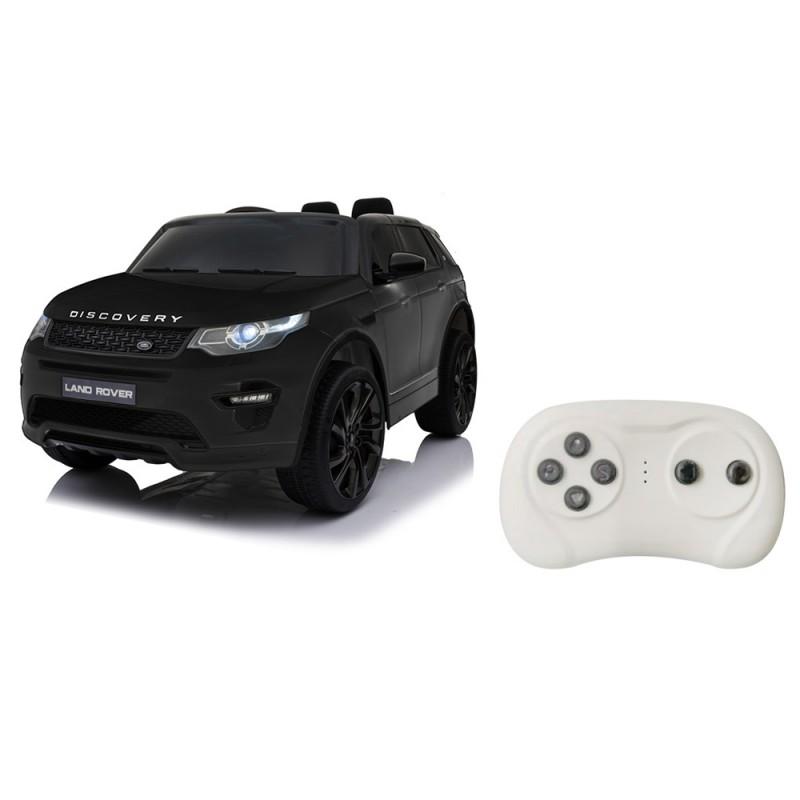 Auto Elettrica Land Rover Nera - Mazzeo Giocattoli  - MazzeoGiocattoli.it