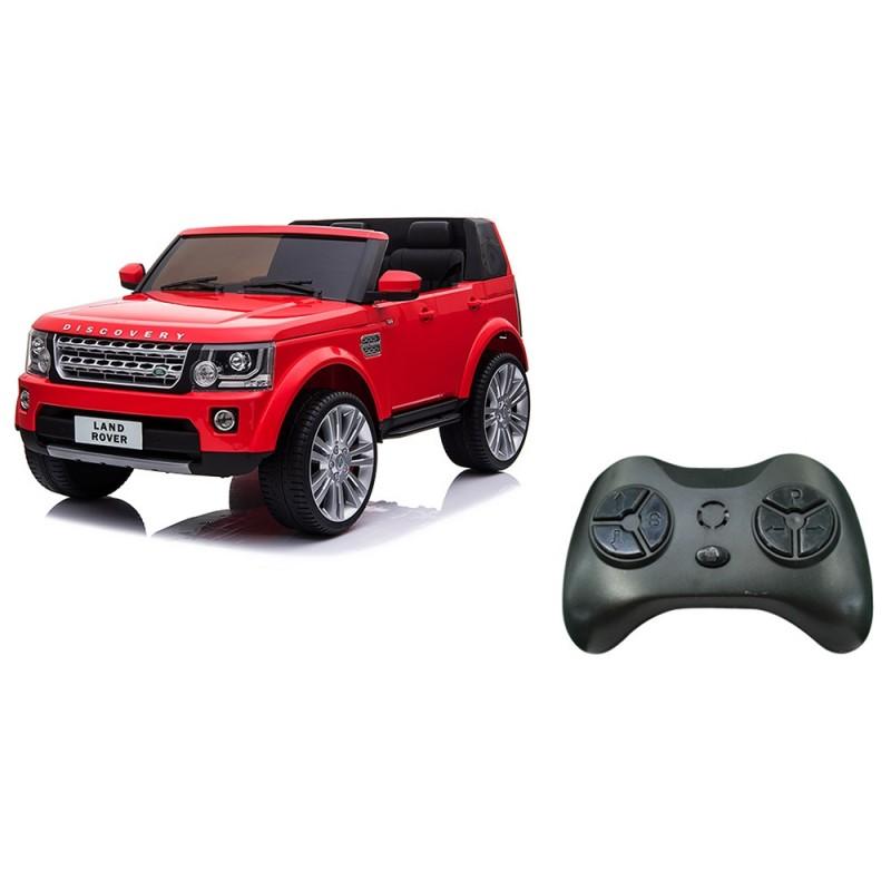 Land Rover Discovery Elettrico Rosso - Mazzeo Giocattoli  - MazzeoGiocattoli.it