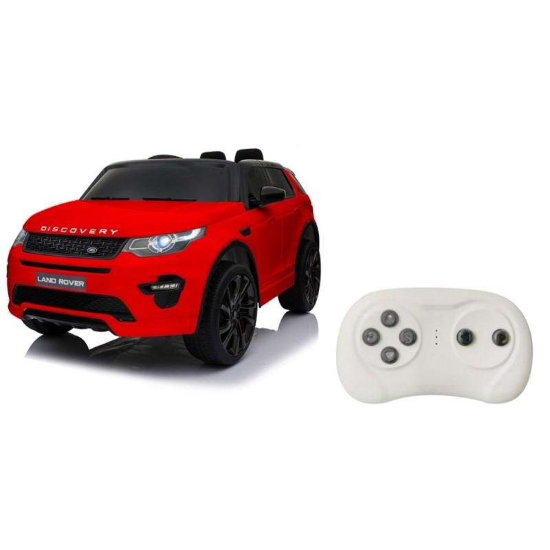Auto Elettrica Land Rover Rosso- Mazzeo Giocattoli  - MazzeoGiocattoli.it
