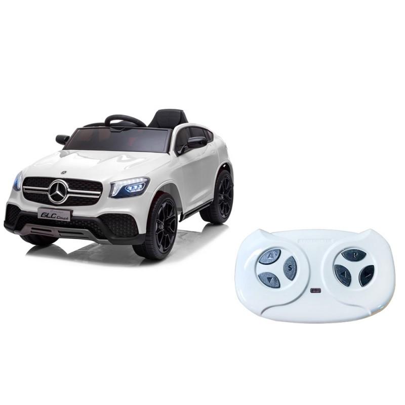 Mercedes Coupé Bianco Elettrico Per Bambini - Mazzeo Giocattoli - MazzeoGiocattoli.it