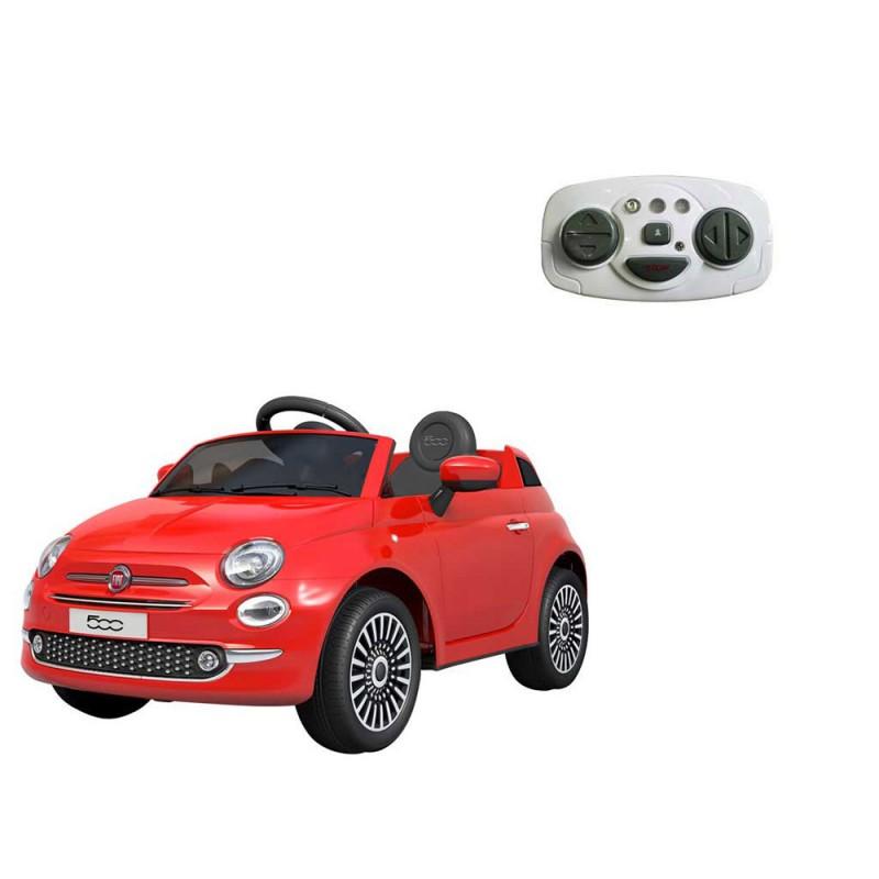 Auto Elettrica Per Bambini Fiat 500 Rossa - Mazzeo Giocattoli - MazzeoGiocattoli.it