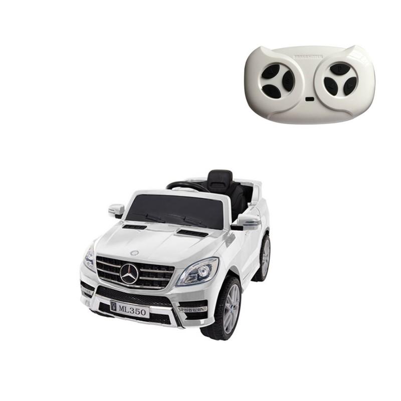 Auto Elettrica Per Bambini Mercedes Classe M Bianca - MazzeoGiocattoli.it