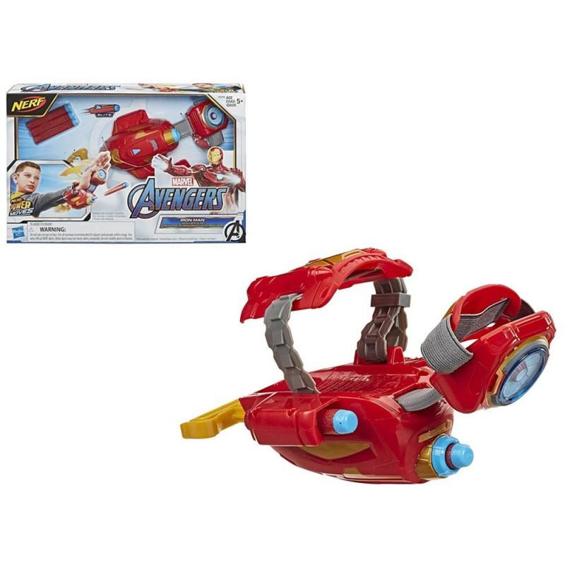 Avengers - Guanto Di Iron Man Power Moves - Hasbro  - MazzeoGiocattoli.it