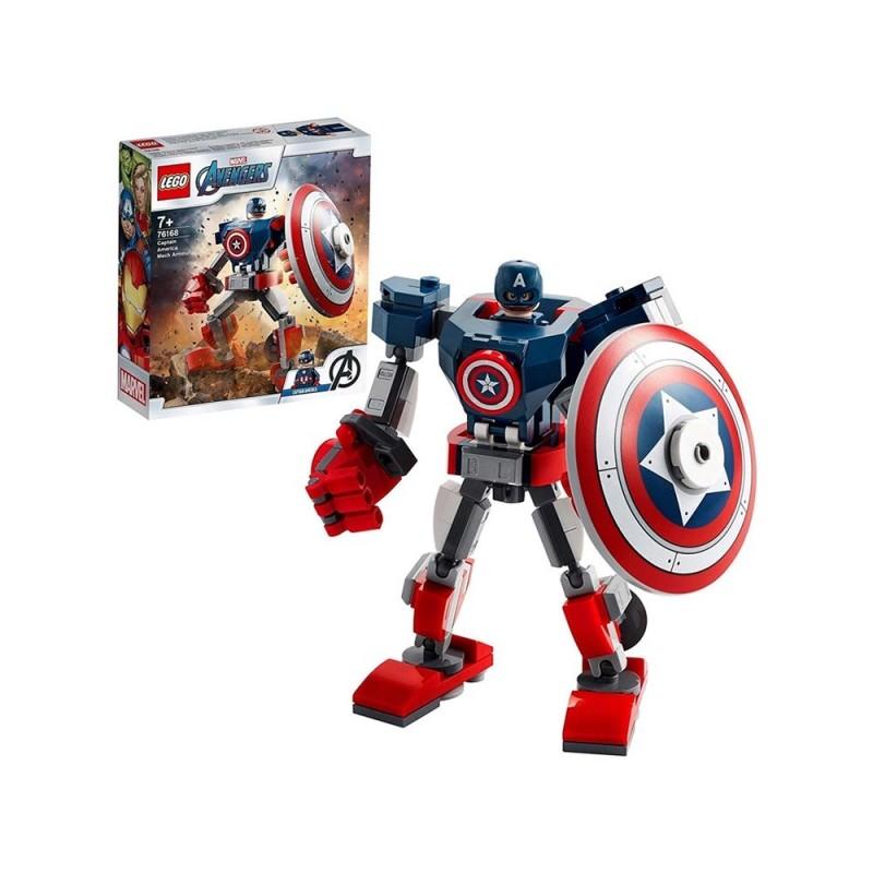 Avengers Armatura Mech Di Capitan America - Lego - MazzeoGiocattoli.it