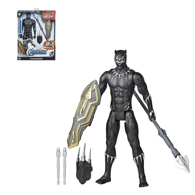 Avengers Black Panther Titan Hero Blast Gear - Hasbro  - MazzeoGiocattoli.it