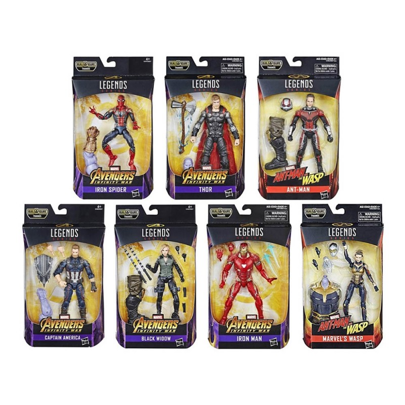 Avengers Infinity War Marvel Legends Series - Hasbro  - MazzeoGiocattoli.it