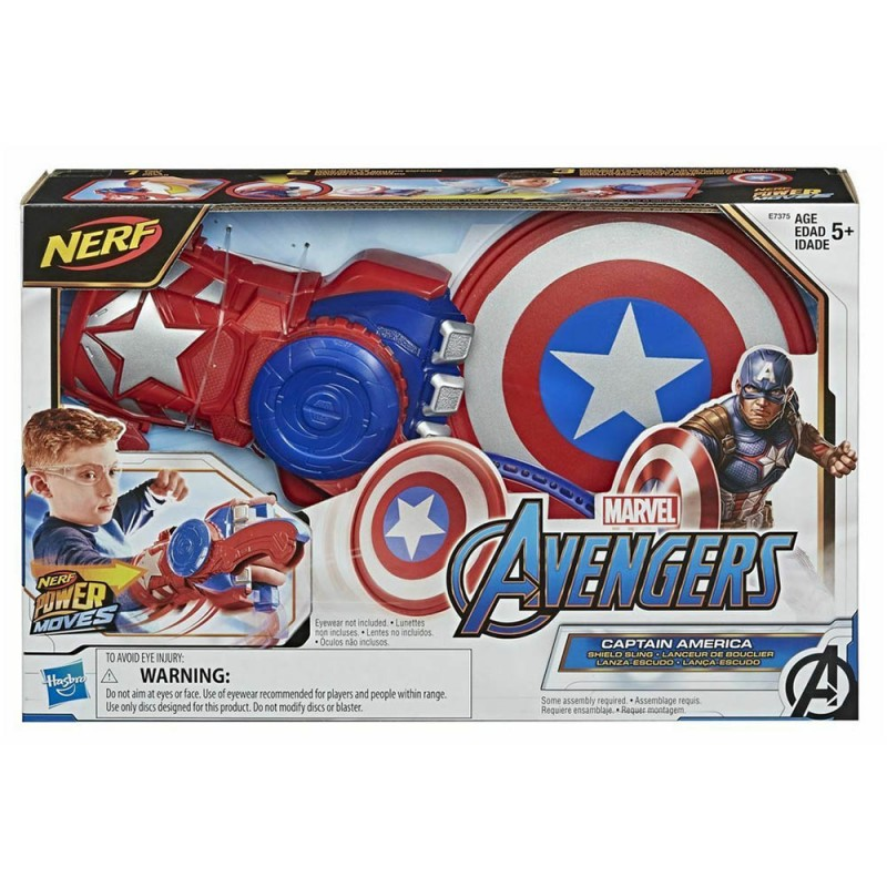 Avengers Power Moves Role Play Capitan America - Hasbro  - MazzeoGiocattoli.it
