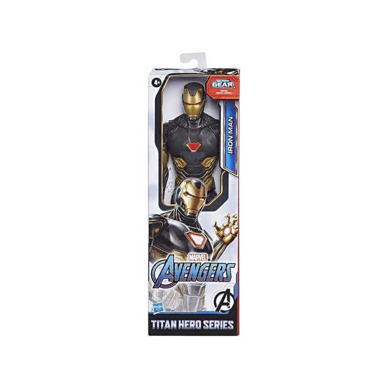 Avengers Titan Hero Iron Man Black Gold - Hasbro - MazzeoGiocattoli.it