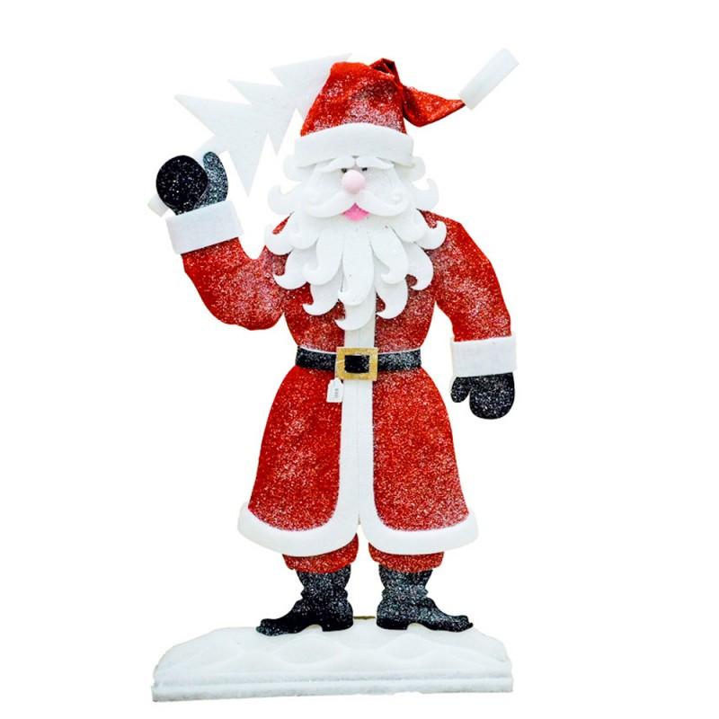 Babbo Natale Decorativo H 1,43 Cm - MazzeoGiocattoli.it