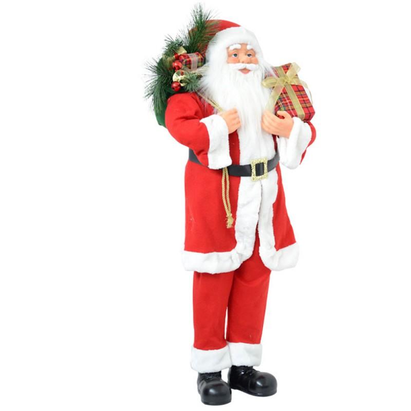 Pupazzo Babbo Natale In Piedi 110 Cm - Mazzeo Giocattoli  - MazzeoGiocattoli.it