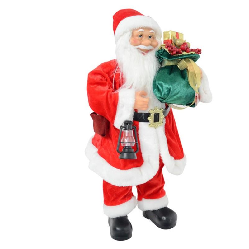 Pupazzo Babbo Natale In Piedi 60 Cm - Mazzeo Giocattoli  - MazzeoGiocattoli.it