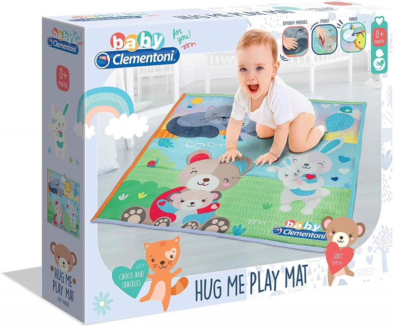 Baby For You - Hug Me Play Mat, Tappetino- Clementoni - MazzeoGiocattoli.it