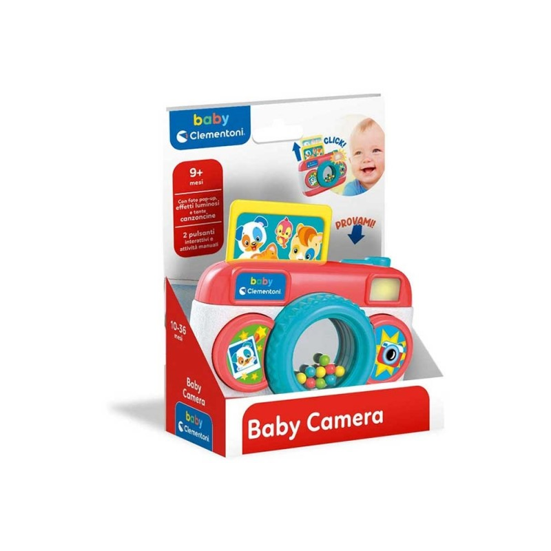 Baby Camera - Clementoni  - MazzeoGiocattoli.it