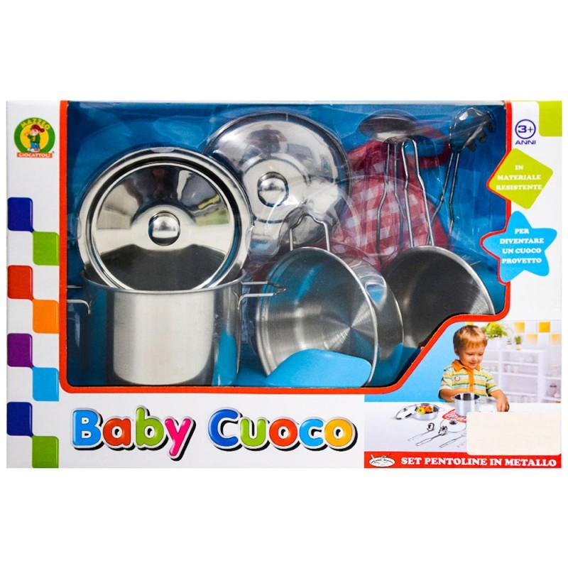 Pentoline Baby Cuoco  - Mazzeo Giocattoli - MazzeoGiocattoli.it