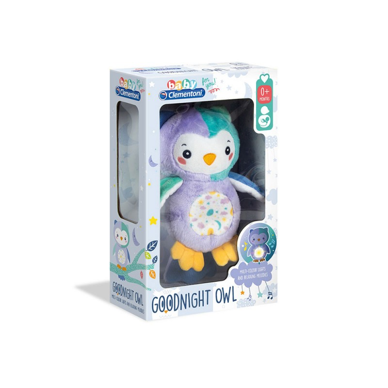 Baby For You-Goodnight Owl - Clementoni - MazzeoGiocattoli.it