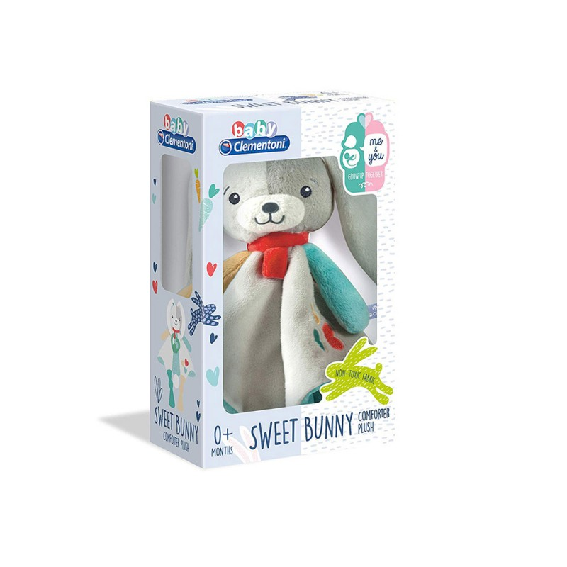 Baby For You-Sweet Bunny - Clementoni  - MazzeoGiocattoli.it