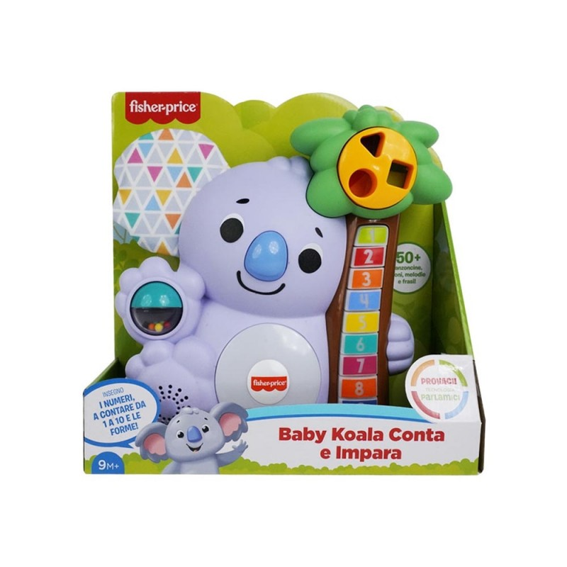 Baby Koala Conta E Impara - Fisher Price  - MazzeoGiocattoli.it