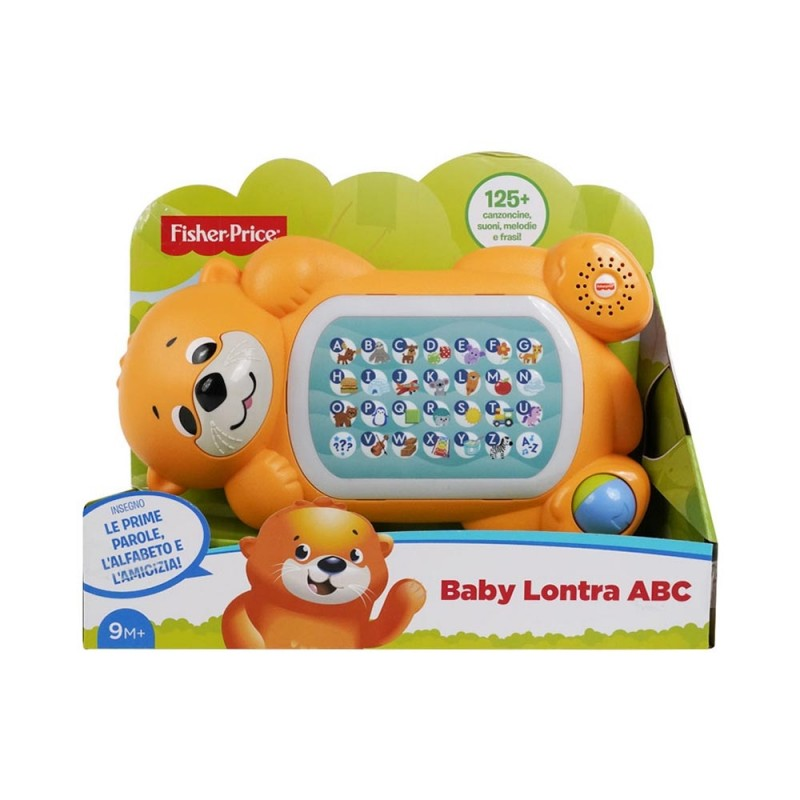 Baby Lontra ABC - Fisher Price  - MazzeoGiocattoli.it