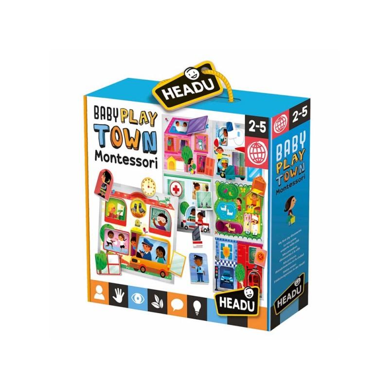 Baby Play Town Montessori - Headu - MazzeoGiocattoli.it