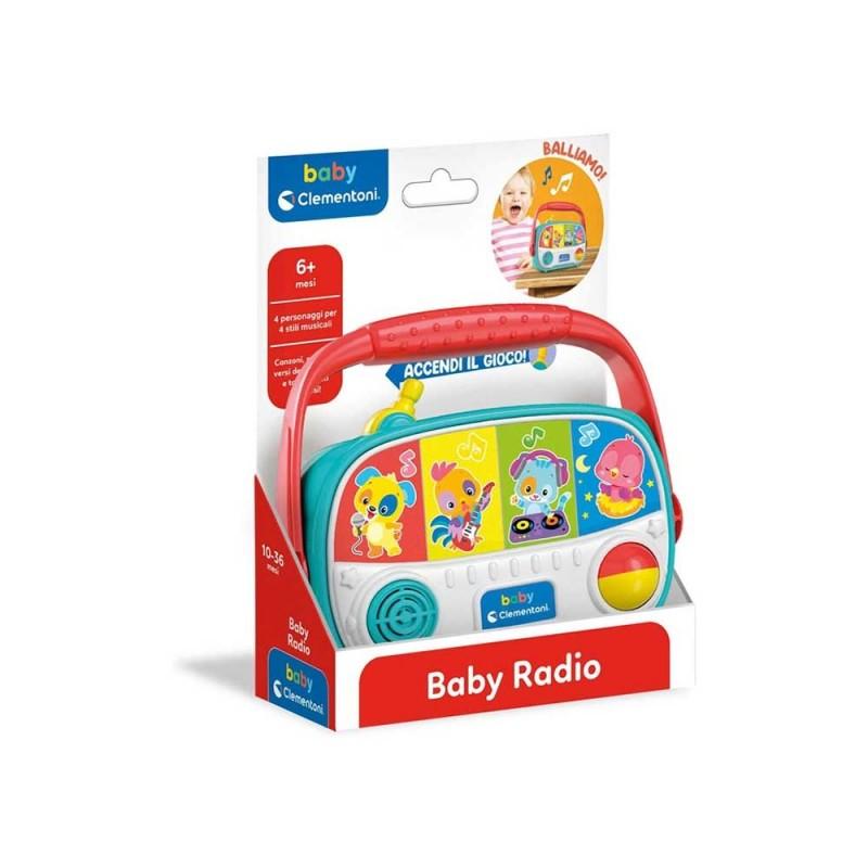 Baby Radio - Clementoni - MazzeoGiocattoli.it