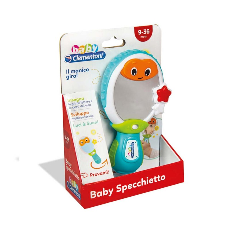 Baby Specchietto - Clementoni  - MazzeoGiocattoli.it