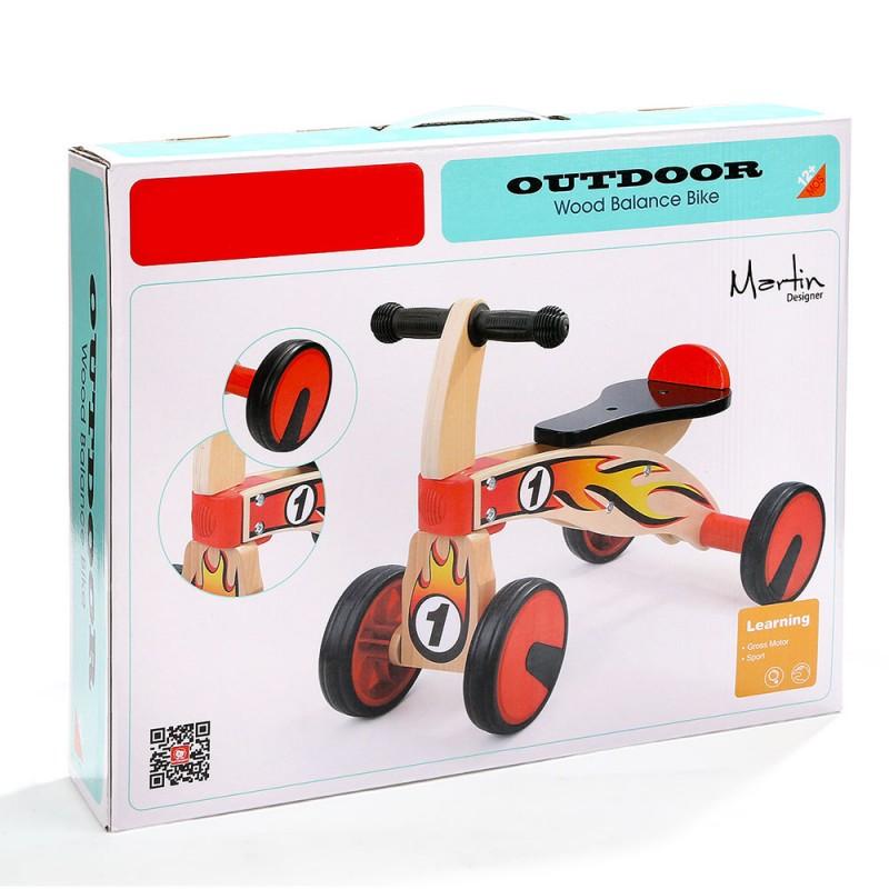 Gioco Cavalcabile Per Bambini - Triciclo In Legno - Mazzeo Giocattoli  - MazzeoGiocattoli.it
