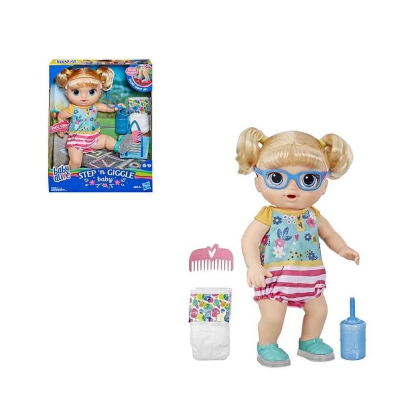 Bambola Baby Alive Step And Giggle - Hasbro - MazzeoGiocattoli.it