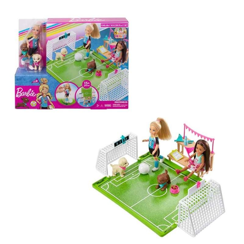 Bambola Barbie Chelsea Calciatrice - Mattel  - MazzeoGiocattoli.it