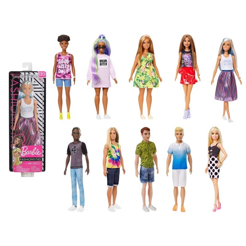 Bambola Barbie Fashionistas DFT82 - Mattel  - MazzeoGiocattoli.it
