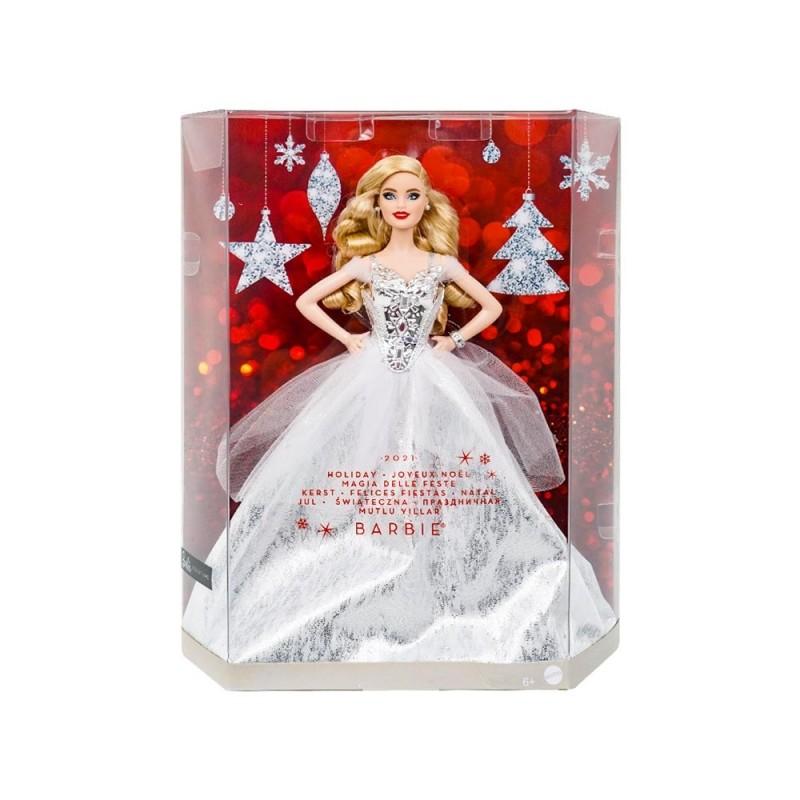 Bambola Barbie Magia Delle Feste 2021 - Mattel  - MazzeoGiocattoli.it