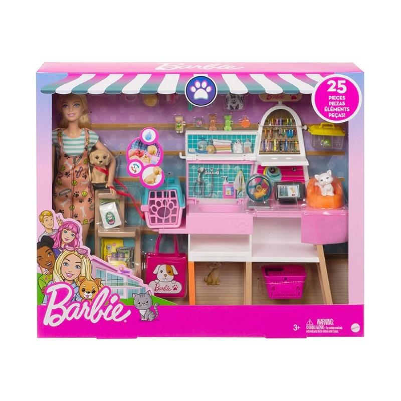 Bambola Barbie Negozio Degli Animali - Mattel  - MazzeoGiocattoli.it