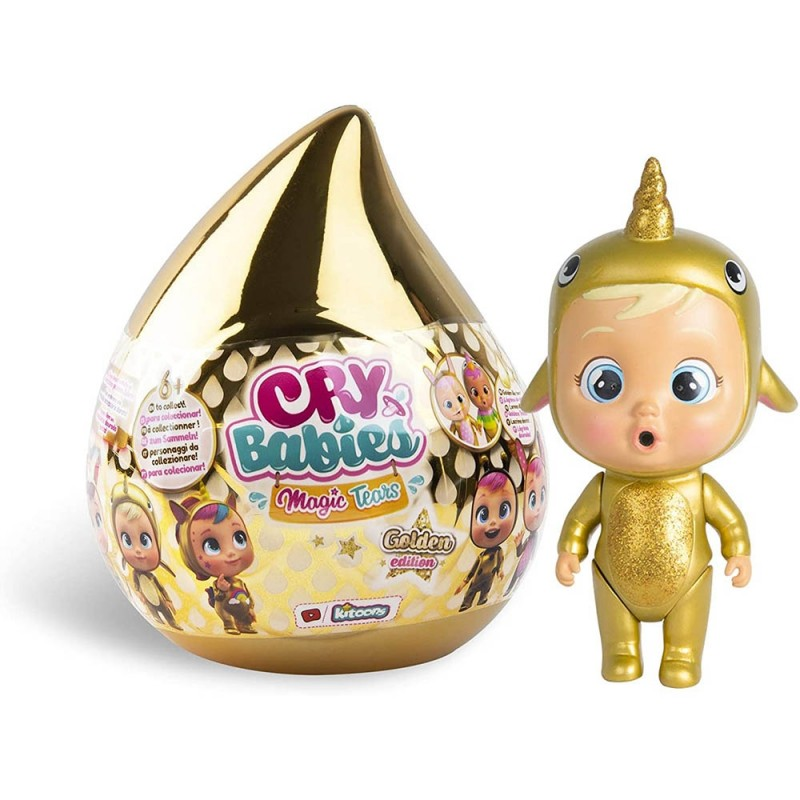 Bambola Cry Babies Magic Tears Golden Edition - Imc Toys  - MazzeoGiocattoli.it